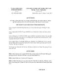 Quyết định số 3068/QĐ-UBND
