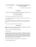 Quyết định số 1891/QĐ-TTg