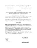 Quyết định số 3435/QĐ-BGTVT