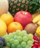 Cách lựa chọn và sử dụng hoa quả một cách hợp lý