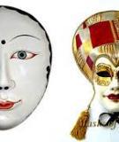 Tạo dáng và trang trí mặt nạ