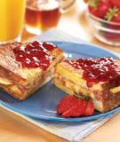 Lạ miệng với bánh sandwich nướng kiểu mới