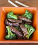 Thịt bò xào súp lơ kiểu mới