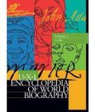 U•X•L ENCYCLOPEDIA OF WORLD BIOGRAPHY