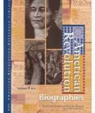 American Revolution Biographies.Volume 2: K–Z