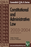 Q&A Series Constitutional and Administrative Law FOURTH EDITION