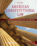 AMERICAN CONSTITUTIONAL LAW VOLUME I SOURCES OF POWER AND RESTRAINT