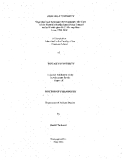 """Research """" Migration and Economic Development: The Case of the Mouride Brotherhood From Senegal to the Washington D.C. Metropolitan Area, 1990-2000  """""""
