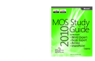 MOS 2010 Study Guide for Microsoft® Word Expert, Excel® Expert, Access®,SharePoint® Exams