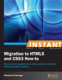 Migration HTML5 and CSS3 how-to