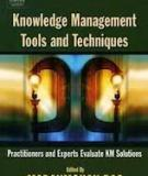 Knowledge Management Tools and Techniques Manual