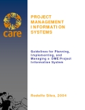 Guidelines for Planning,   Implementing, and   Managing a  DME Project   Information System 2004