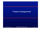 Project management : ©Ian Sommerville 2004