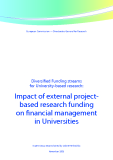 Diversified Funding streams   for University-based research: Impact of external project-  based research funding   on financial management   in Universities