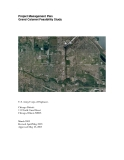 Project Management Plan Grand Calumet Feasibility Study