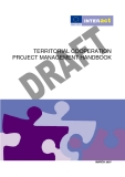 TERRITORIAL COOPERATION  PROJECT MANAGEMENT HANDBOOK