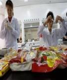 Sự hư hỏng thực phẩm và ngộc độc thực phẩm do vi sinh vật
