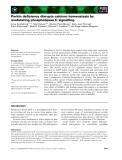 Báo cáo khoa học: Parkin deficiency disrupts calcium homeostasis by modulating phospholipase C signalling