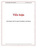 Tiểu luận: GIAO DỊCH CHỨNG KHOÁN BOMBAY (MUMBAI)
