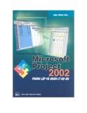 Các thủ thuật sử dụng Microsoft Project 2002 trong lập và quản lý dự án