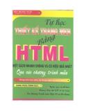 Tự Học Thiết Kế Trang Web Bằng HTML Một Cách Nhanh Chóng Và Có Hiệu Quả Nhất Qua Các Chương Trình Mẫu