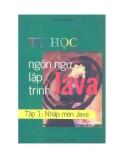Tập 1: Nhập môn Java - Tự học ngôn ngữ lập trình Java