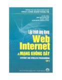 Lập trình web Internet  và mạng không dây (tập 2)