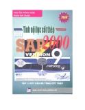 Tính nội lực cốt thép bằng SAP 2000 Version 9 (Tập 1 ) - NXB Thống Kê