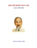 Ebook Hồ Chí Minh Toàn tập - Tập 3