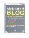 Ebook Hướng dẫn cài đặt và viết Blog với các dịch vụ miễn phí - Đậu Quang Tuấn