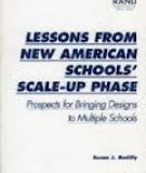Lessons From New American Schools' Scale-Up Phase
