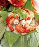 Cơm hải sản gói lá sen