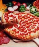 Hướng dẫn làm pizza trái tim tỏ tình - Pizza Heart, công thức làm pizza chuẩn