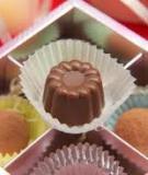 Công thức và cách đổ khuôn chocolate nhân mứt hoặc tùy í, cách làm chocolate và truffles đơn giản