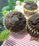 Cách làm cupcake socola chuối - Banana Chocolate cupcake
