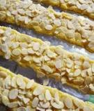 Công thức làm bánh gato phủ hạnh nhân almond cake