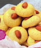 Bánh quy bơ hạnh nhân thơm lừng gian bếp nhỏ