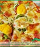 Mini Pizza - Công thức làm Pizza mini ngon tuyệt