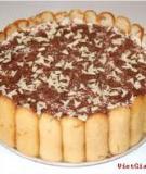 Không cần lò nướng, làm Cheesecake chocolate dâu 3 lớp cực