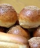 Hướng dẫn làm Burger buns và Hot dog buns
