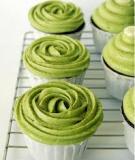 Green Tea Cupcake Cupcake trà xanh