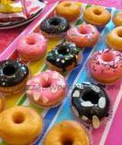 Hướng dẫn làm bánh donut xinh xắn