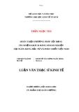 Đề tài: HOÀN THIỆN PHƯƠNG PHÁP XẾP HẠNG  TÍN NHIỆM KHÁCH HÀNG DOANH NGHIỆP  TẠI NGÂN HÀNG ĐẦU TƯ VÀ PHÁT TRIỂN VIỆT NAM