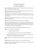Câu hỏi ôn tập Chương 4 môn thanh toán quốc tế