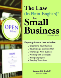 The Law (In Plain English) ® for Small Business