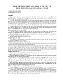 """Báo cáo khoa học """" MỘT PHƯƠNG PHÁP XÁC ĐỊNH TUỔI THỌ VÀ TUỔI THỌ CÒN LẠI CỦA CÔNG TRÌNH """""""