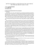 """Báo cáo khoa học """" MỘT SỐ VẤN ĐỀ NGHIÊN CỨU TRONG BIÊN SOẠN TIÊU CHUẨN THIẾT KẾ CÔNG TRÌNH CHỊU ĐỘNG ĐẤT TCXDVN 375:2006 """""""