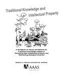 Traditional Knowledge and Intellectual Property
