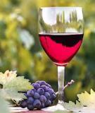 Rượu vang giúp sắc mặt hồng hào, chống lại quá trình lão hóa