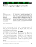 Báo cáo khoa học: Membrane compartments and purinergic signalling: occurrence and function of P2X receptors in lung Kathrin Barth and Michael Kasper